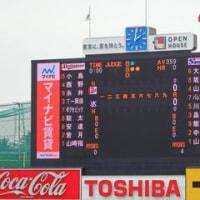 セ・パ交流戦を観戦~6/4神宮~