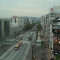 姫路城 50メートル道路