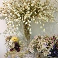 べルの花は展覧会の後にはリースになりました。