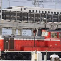 DD51-1109+チキ2B(米原訓練・試9971レ)