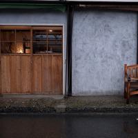 沼垂テラス 雨の午後