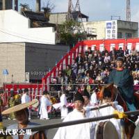 八代妙見祭りへ(熊本県八代市)