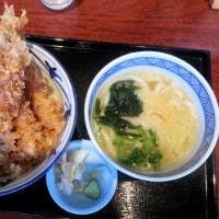 博多うどん 木村屋(大曽根キャッスル店) ~ 海老天丼 小うどんセット ~