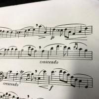 楽譜のレイアウト
