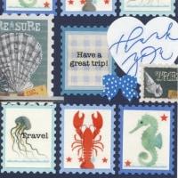 Cardごのみ459~海の仲間たち&大きな足跡