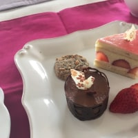 「ココア&レーズンのバターケーキ+ディアマン」のレッスンがありました