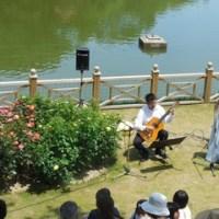イングリッシュガーデン(日本経済大学)の、ミニコンサート