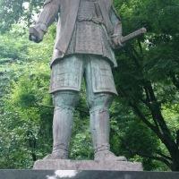 金沢市白鳥路前田利家公銅像