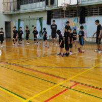 第1回 山北高校小中学生バレーボール練習会報告