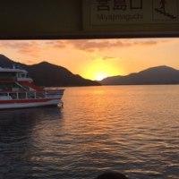 宮島と錦帯橋