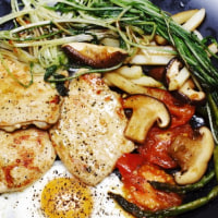 焼き野菜。