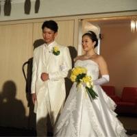 甥っ子の結婚式
