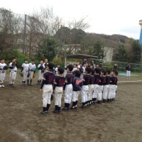 4年チーム 3/12練習試合・合同練習