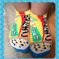 今日のレッスンに来た生徒ちゃんの靴下がかわいかった‼️