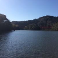 初釣りIN亀山ダム