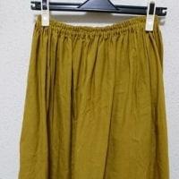 お気に入りの布で♪ロングギャザースカート