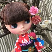 梅の花の香り。と、着物。