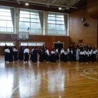 沓掛中学校で開催された、豊明市の剣道大会の応援に行ってきました。