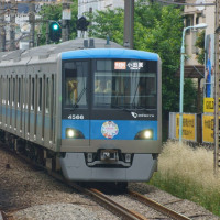 2017年5月25日  小田急 代々木八幡 4066F  PASMO10周年 H・M