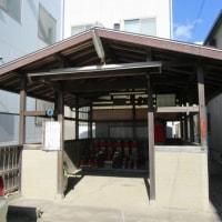 神戸市長田区駒ヶ林町の散策記 on 2017-2-19 その8   駒一地蔵尊と徳本上人六字名号石