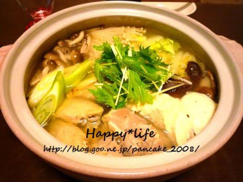 すごいお勧め『博多風水炊き鍋』!