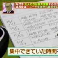 東大受験生の勉強法 (TVタックル)