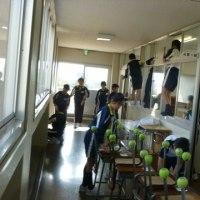 次への準備(教室移動)
