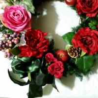 ◇◇◇ クリスマスリース…♪ 完成 ♡