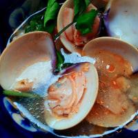 ハマグリのスープごはん 潮干狩りの成果