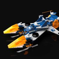 ★LEGO BLACKTRON専用の大型宇宙船つくったったww(*´∇`*)!!の巻
