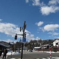 勝山、大野と訪れた日帰りの旅の最後は又お山を眺めて。NO.7