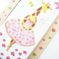 新作【バレエ雑貨】iPhone ケース 6s きりん バレリーナ トゥシューズ