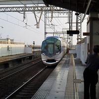 駅の風景 近鉄筒井駅
