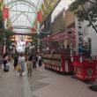 三瀧神社の神輿・山車の行列