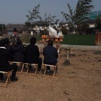 熊谷市内で地鎮祭をやりました!!