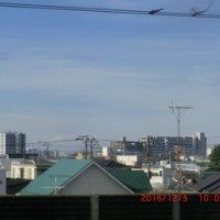 富士山とお月様も癒してくれて・・・