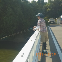 修行のハゼ釣り