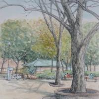 杉並の蚕糸公園