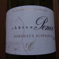 Chateau Penin 2009 BORDEAUX SUPERIEUR