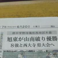 今日の新聞