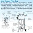 【リーフトラッパー】ポンプ前置式大型集じんタンク(枯葉・ゴミ・ヘアーキャッチャー)