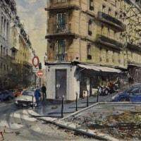 「 パリの街角 3 」