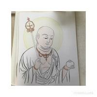 仏画も描きたくて。:教室17回目