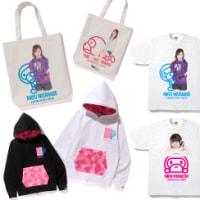 A BATHING APE x AKB48コラボアイテムが12/10発売。※メンバー4名(渡辺麻、柏木、向井地、小嶋真)
