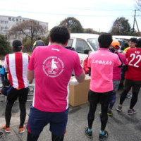 強風と寒さに耐え完走!皆さんお疲れ様でした。第8回いわきサンシャインマラソン大会