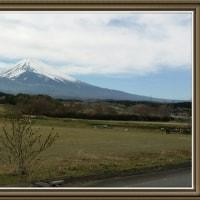 春の嵐の後…今日の富士山