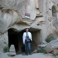 「エジプト・トルコ旅行記」 №99 渓谷奥の教会跡
