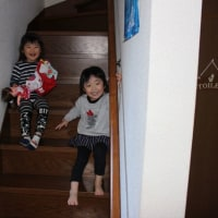 Hちゃんは4歳、Rちゃんは3歳になりました。