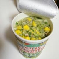 カップヌードル抹茶仕立てのシーフード味