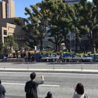 東京マラソン  先頭の外国人